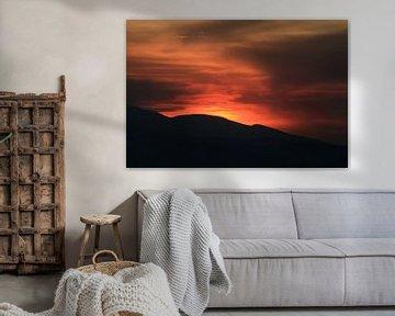 Ngorongoro Sunset von Gert-Jan Siesling