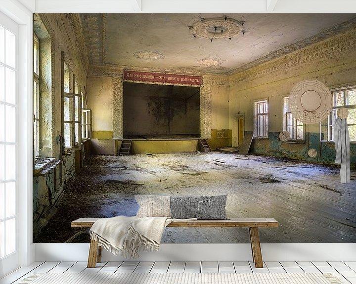 Beispiel fototapete: Theater mit Podium. von Roman Robroek