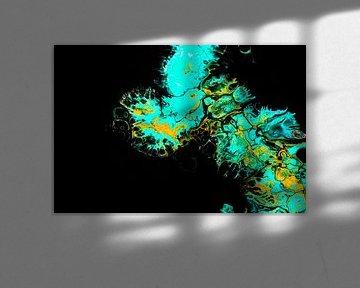 Acryl kunst 2051 von Rob Smit