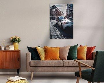 Ferrari 488 in London streets von Norbert de  Krijger