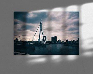 Erasmusbrug - Rotterdam von Norbert de  Krijger