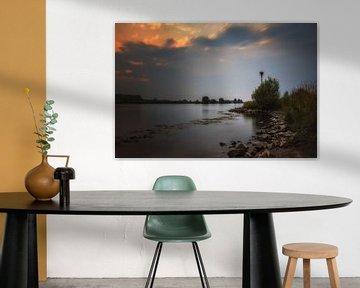 Hollands rivierenlandschap van Jos Reimering
