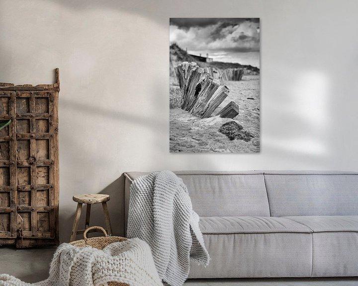 Sfeerimpressie: Utah Beach Normandië van Rob van der Teen