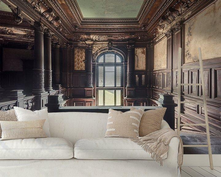 Beispiel fototapete: Palast Treppenhaus von Perry Wiertz