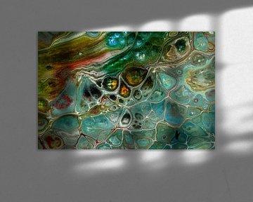 Acryl kunst 2080 von Rob Smit