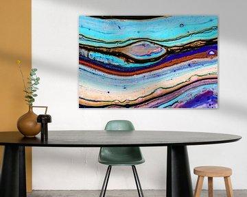 Acryl kunst 2094 von Rob Smit