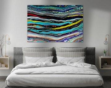 Acryl kunst 2097 von Rob Smit