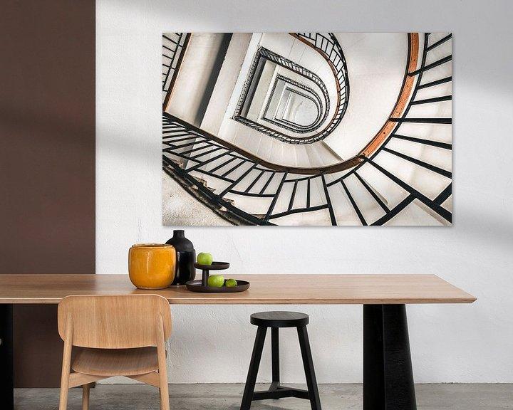Beispiel: Treppenhaus Retro von Perry Wiertz