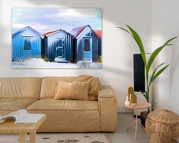 Kleine Hütten von Kirsten Warner