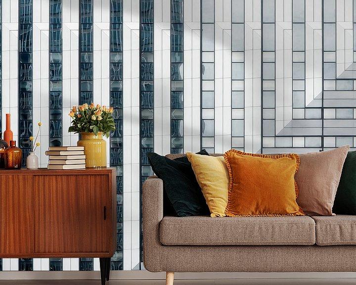 Sfeerimpressie behang: Moderne Architectuur van Ellen Driesse
