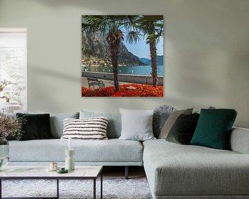 GARDASEE Prächtige Uferpromenade in Limone sul Garda sur Melanie Viola