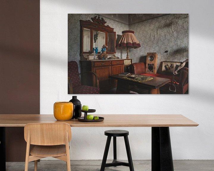 Sfeerimpressie: Antieke Woonkamer van Perry Wiertz