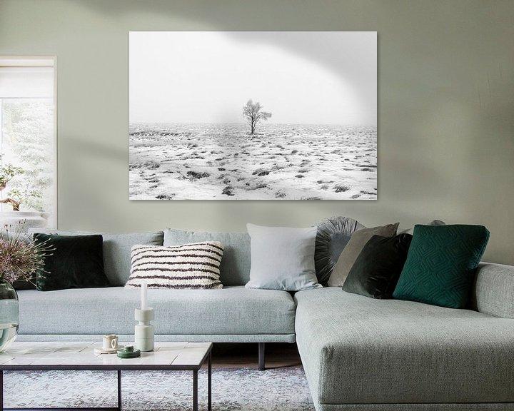 Sfeerimpressie: Winter wonderland in de Ardennen  van Lukas De Groodt