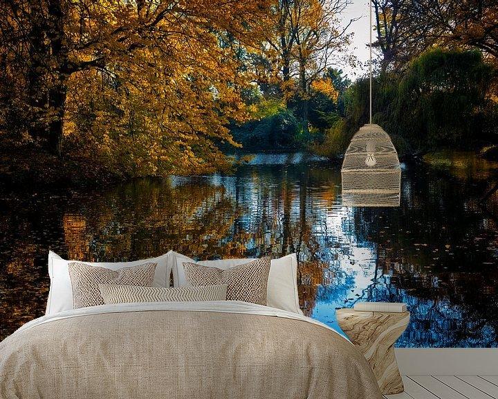 Sfeerimpressie behang: Herfst in het Julianapark van Jan van der Knaap