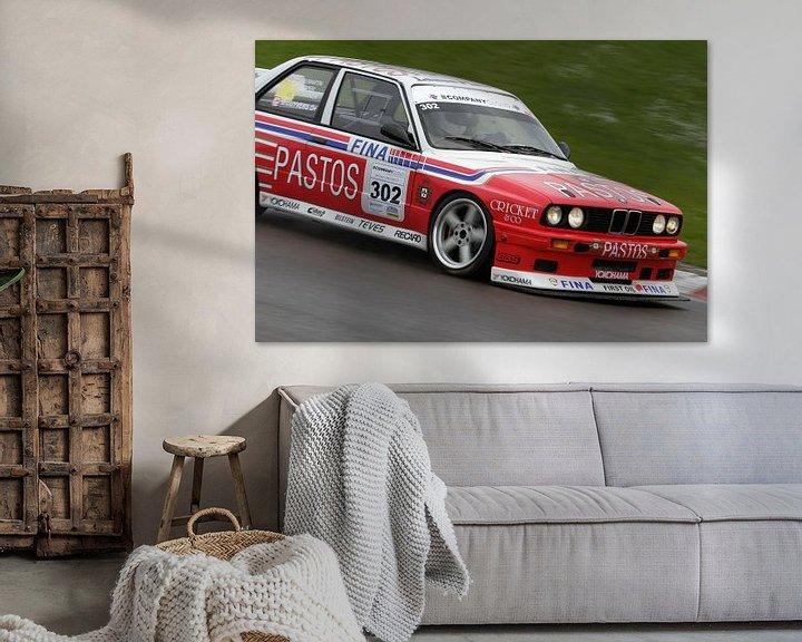Sfeerimpressie: BMW M3 e30 op het circuit van Menno Schaefer