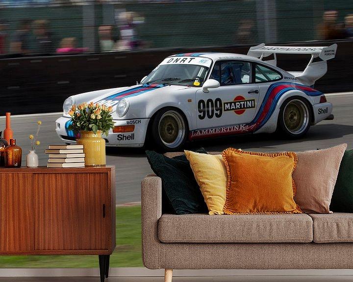 Sfeerimpressie behang: Porsche 911 RS van Menno Schaefer