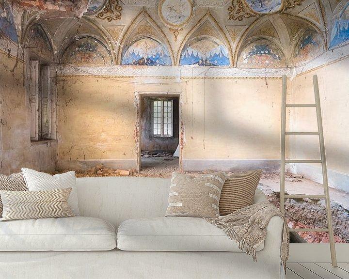 Sfeerimpressie behang: Villa met Gat in de Vloer. van Roman Robroek