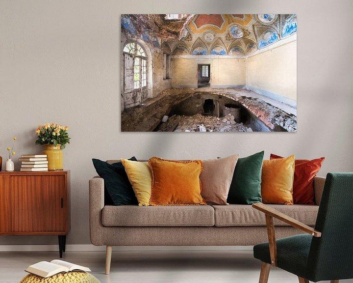 Sfeerimpressie: Villa met Gat in de Vloer. van Roman Robroek