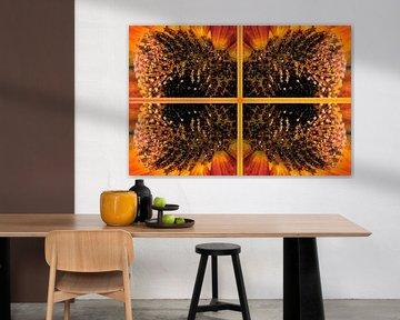 zonnebloemen vierluik von CreaBrig Fotografie