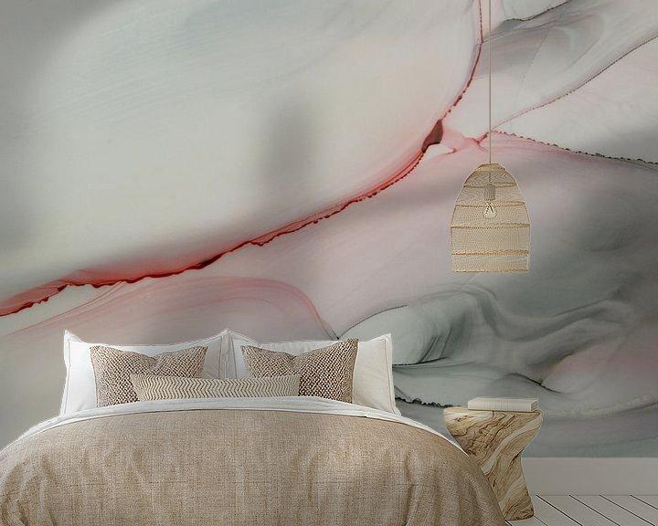 Sfeerimpressie behang: Love in the air II van Carla Mesken-Dijkhoff