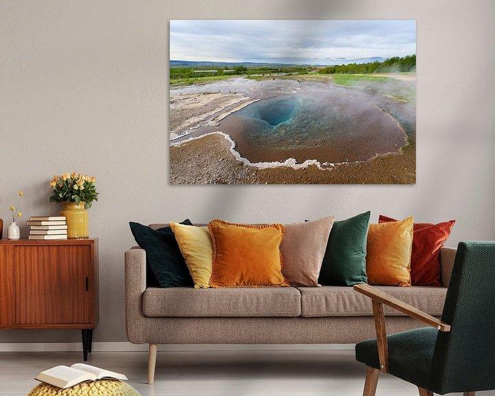 Sfeerimpressie: Blesi bij Geysir, IJsland van Joep de Groot