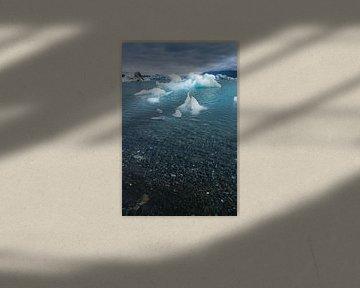 Jökulsárlón, IJsland van Joep de Groot