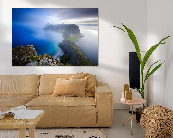 Sfeerimpressie: Vaeroy, Lofoten van Sven Broeckx
