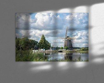Gemeenschapsmolen in Driemond van Foto Amsterdam / Peter Bartelings