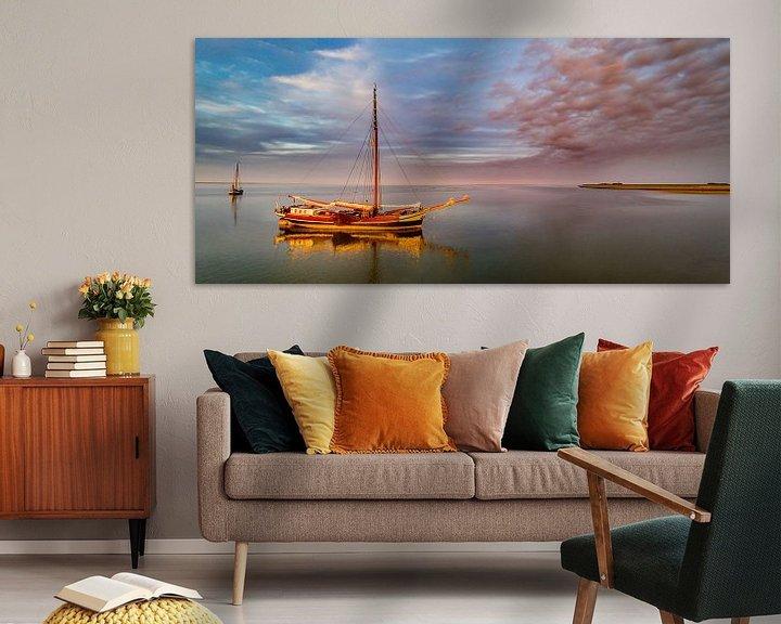 Sfeerimpressie: Haven van Sil Texel wachten op hoog water van Texel360Fotografie Richard Heerschap