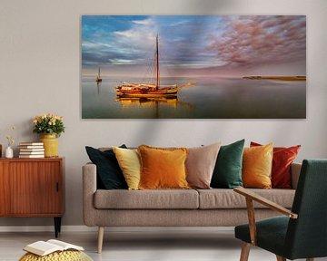 Haven van Sil Texel wachten op hoog water van Texel360Fotografie Richard Heerschap