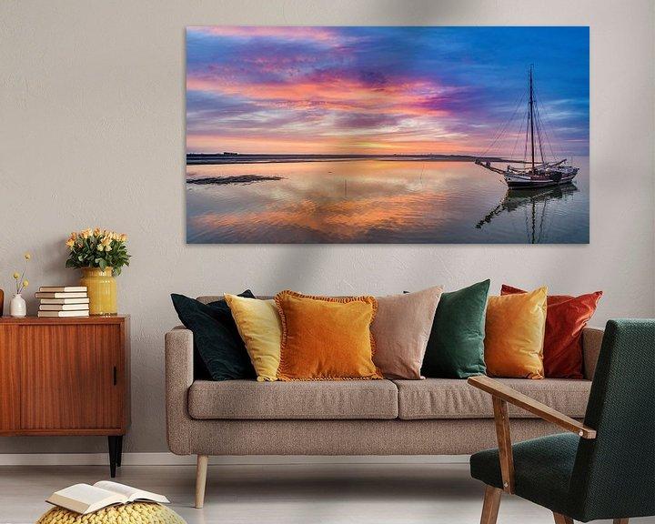 Sfeerimpressie: Haven van Sil Texel Neerlandia wacht op hoog water van Texel360Fotografie Richard Heerschap