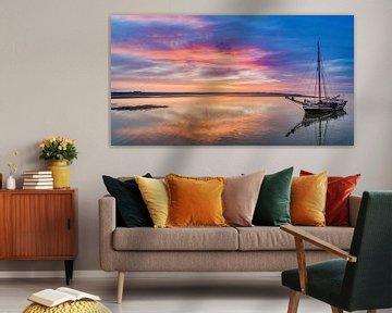 Haven van Sil Texel Neerlandia wacht op hoog water van Texel360Fotografie Richard Heerschap