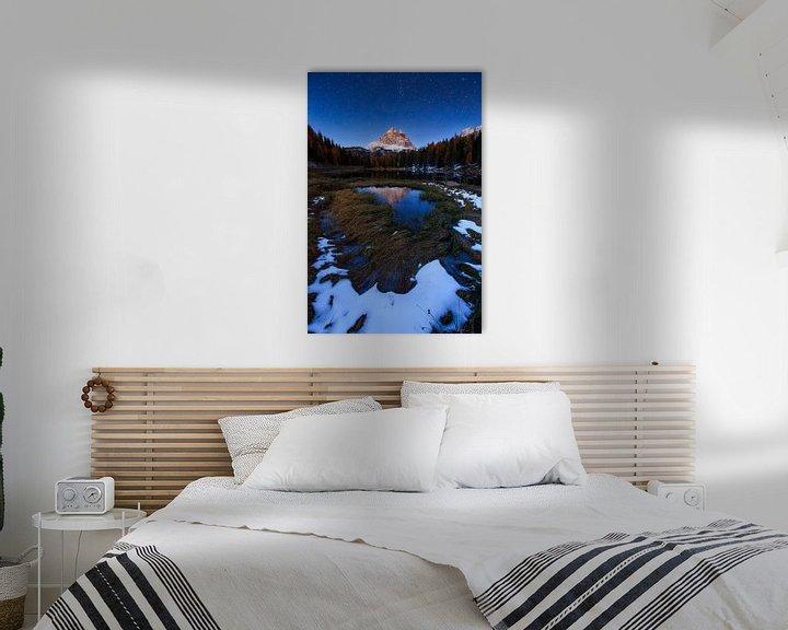 Sfeerimpressie: Meer van Antorno, Dolomieten van Sven Broeckx