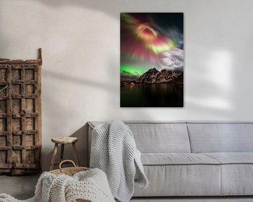 Magie der Nordlichter von Sven Broeckx