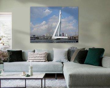 Erasmusbrug, Rotterdam von Klaas Roos