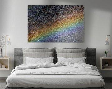 Regenboog in regenboog van Betty van Engelen