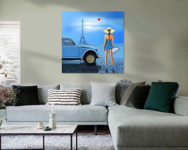 Beispiel: French blue von Monika Jüngling