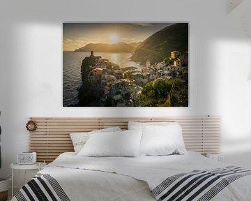Zonsondergang in Vernazza / Cinque Terre