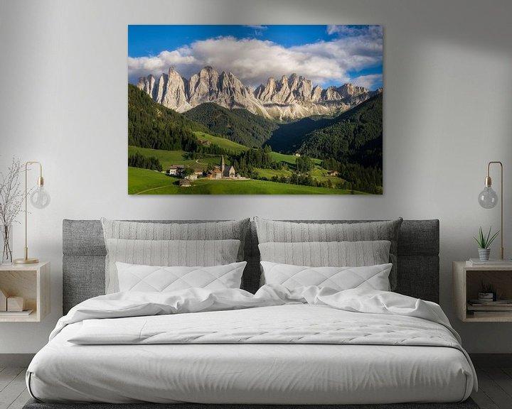 Sfeerimpressie: Uitzicht in de Dolomieten van Edwin Mooijaart