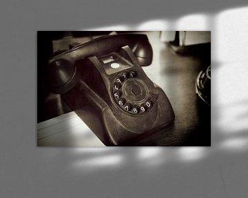 Altes Telefon von Jan van der Knaap