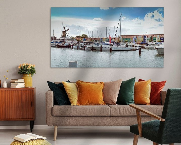 Impression: Jachthaven Hellevoetsluis sur John van Weenen