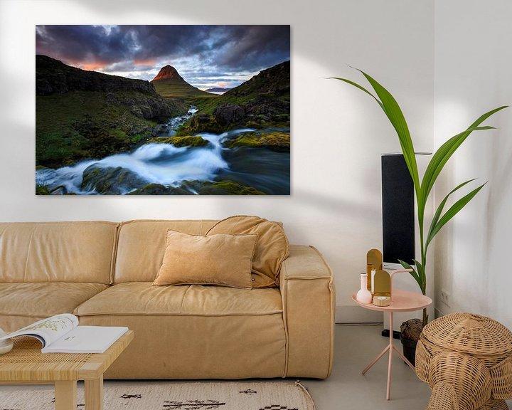 Sfeerimpressie: Kirkjufell, IJsland van Sven Broeckx