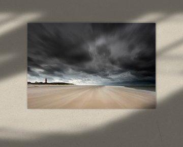 Storm op Texel van Aland De Wit