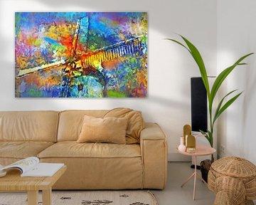 Windmolen abstract