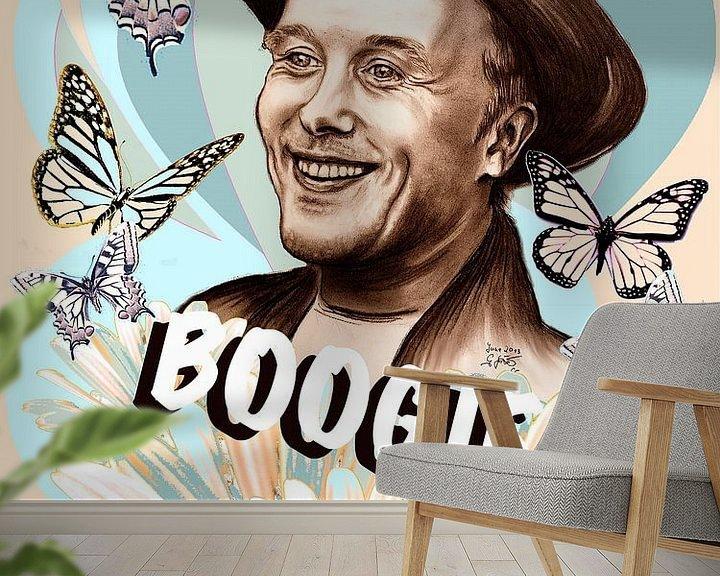 Beispiel fototapete: Mark The Boogie Believer von Gitta Gläser