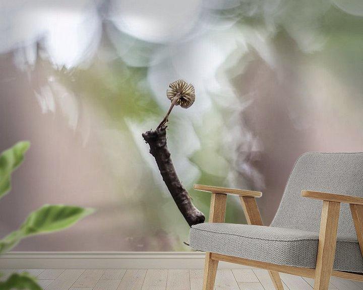 Sfeerimpressie behang: Curiosity van Bob Daalder