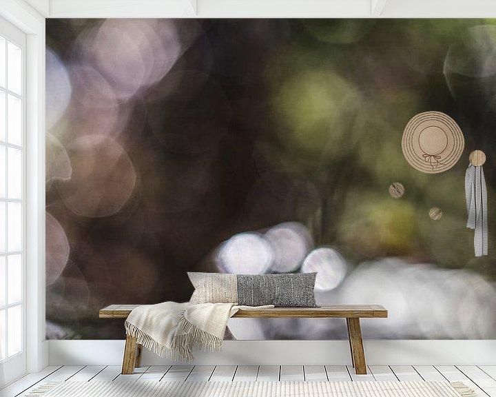 Sfeerimpressie behang: Magical light van Bob Daalder
