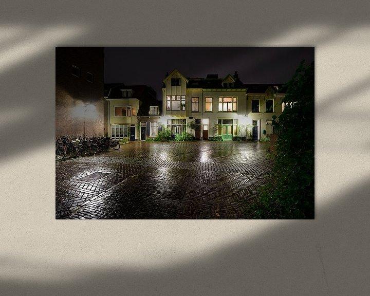 Sfeerimpressie: Wolvenplein in Utrecht van Donker Utrecht