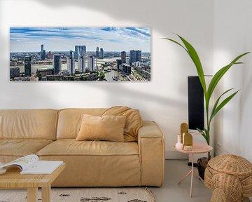 Panorama richting Rotterdam Zuid sur Midi010 Fotografie