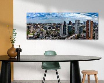 Panorama centrum Rotterdam von Midi010 Fotografie
